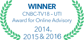 Winner for online advisory 2015 |CNBC-TV 18 UTI Award